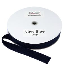 """2"""" - DuraGrip Brand Sew-On Loop - Navy Blue DG20NBLS"""