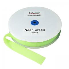 "2"" - DuraGrip Brand Sew-On Hook - Neon Green DG20NGHS"