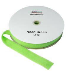 """2"""" - DuraGrip Brand Sew-On Loop - Neon Green DG20NGLS"""