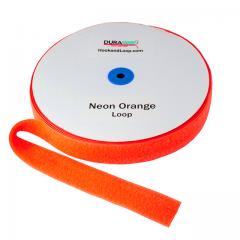 "2"" - DuraGrip Brand Sew-On Loop - Neon Orange DG20NOLS"