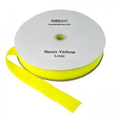 "2"" - DuraGrip Brand Sew-On Loop - Neon Yellow DG20NYLS"