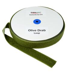 """2"""" - DuraGrip Brand Sew-On Loop - Olive Drab DG20ODLS"""