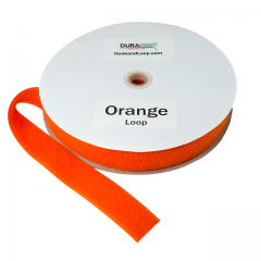 "2"" - DuraGrip Brand Sew-On Loop - Orange DG20ORLS"