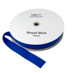"""2"""" - DuraGrip brand Sew-On Hook - Royal Blue DG20RBHS"""