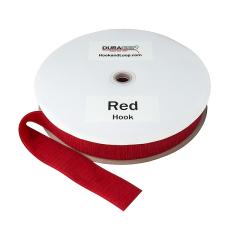 "2"" - DuraGrip brand Sew-On Hook - Red DG20RDHS"