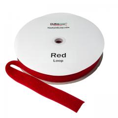 """2"""" - DuraGrip brand Sew-On Loop - Red DG20RDLS"""