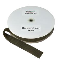 """2"""" - DuraGrip brand Sew-On Hook - Ranger Green DG20RGHS"""