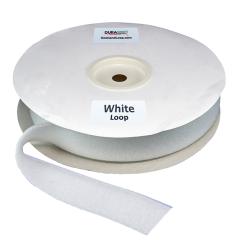 "Duragrip 2"" White Loop Acrylic"