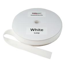 """2"""" - DuraGrip brand Sew-On Loop - White DG20WHLS"""