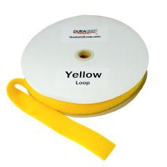"""2"""" - DuraGrip Brand Sew-On Loop - Yellow DG20YWLS"""