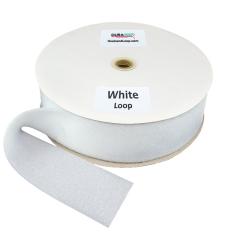 """3"""" - DuraGrip brand Sew-On Loop - White DG30WHLS"""