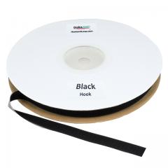 "3/4"" - DuraGrip brand Peel & Stick Hook: Rubber - Black DG34BLHR"