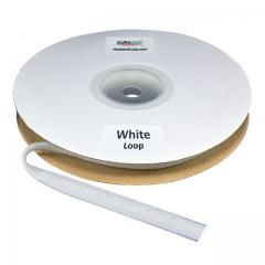 "Duragrip 3/4"" White Loop Acrylic"