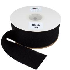 "4"" - DuraGrip brand Peel & Stick Loop: Rubber - Black DG40BLLR"