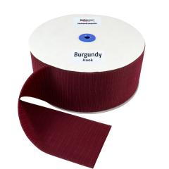 """4"""" - DuraGrip Brand Sew-On Hook - Burgundy DG40BUHS"""