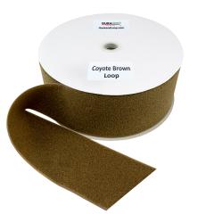 """4"""" - DuraGrip Brand Sew-On Loop - Coyote Brown DG40CBLS"""