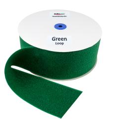 """4"""" - DuraGrip Brand Sew-On Loop - Kelly Green DG40GRLS"""