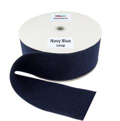 """4"""" - DuraGrip Brand Sew-On Loop - Navy Blue DG40NBLS"""