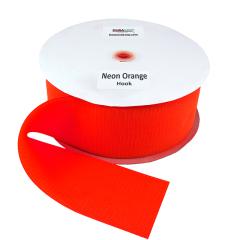 """4"""" - DuraGrip Brand Sew-On Hook - Neon Orange DG40NOHS"""