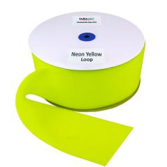 "4"" - DuraGrip Brand Sew-On Loop - Neon Yellow DG40NYLS"