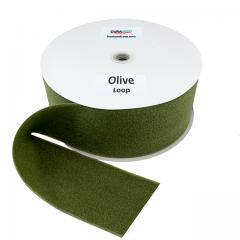 """4"""" - DuraGrip Brand Sew-On Loop - Olive Drab DG40ODLS"""