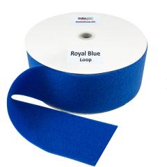 """4"""" - DuraGrip brand Sew-On Loop - Royal Blue DG40RBLS"""