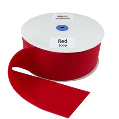 """4"""" - DuraGrip brand Sew-On Loop - Red DG40RDLS"""