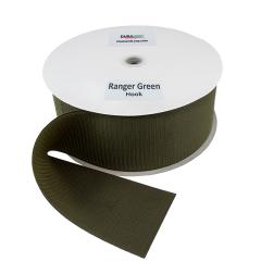 """4"""" - DuraGrip brand Sew-On Hook - Ranger Green DG40RGHS"""