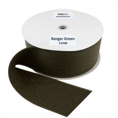 "4"" - DuraGrip brand Sew-On Loop - Ranger Green DG40RGLS"