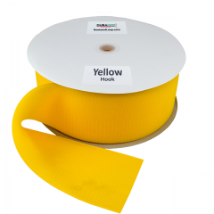 "4"" - DuraGrip brand Sew-On Hook - Yellow DG40YWHS"