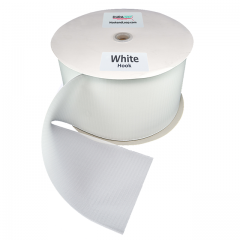 "5"" - DuraGrip brand Sew-On Hook - White DG50WHHS"