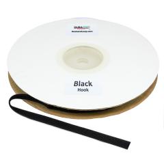 "5/8"" - DuraGrip brand Peel & Stick Hook: Rubber - Black DG58BLHR"