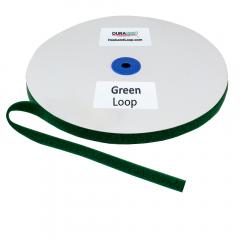 """5/8"""" - DuraGrip Brand Sew-On Loop - Kelly Green DG58GRLS"""