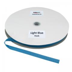 "5/8"" - DuraGrip Brand Sew-On Hook - Light Blue DG58LBHS"