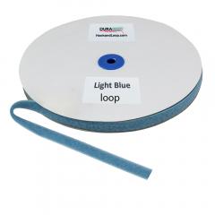 "5/8"" - DuraGrip Brand Sew-On Loop - Light Blue DG58LBLS"