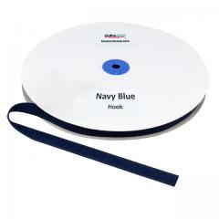 "5/8"" - DuraGrip Brand Sew-On Hook - Navy Blue DG58NBHS"