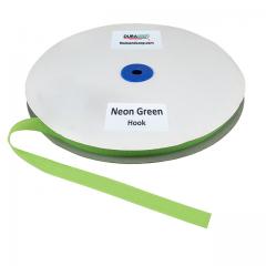 "5/8"" - DuraGrip Brand Sew-On Hook - Neon Green DG58NGHS"