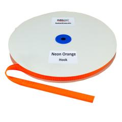 """5/8"""" - DuraGrip Brand Sew-On Hook - Neon Orange DG58NOHS"""