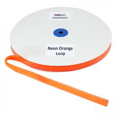 "5/8"" - DuraGrip Brand Sew-On Loop - Neon Orange DG58NOLS"