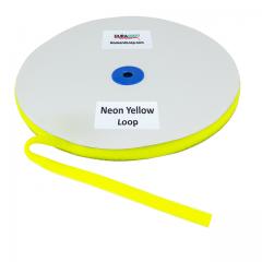 "5/8"" - DuraGrip Brand Sew-On Loop - Neon Yellow DG58NYLS"