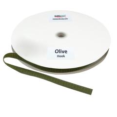 "5/8"" - DuraGrip Brand Sew-On Hook - Olive Drab DG58ODHS"