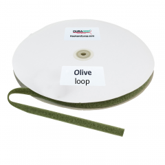"""5/8"""" - DuraGrip Brand Sew-On Loop - Olive Drab DG58ODLS"""