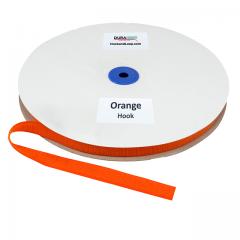 """5/8"""" - DuraGrip Brand Sew-On Hook - Orange DG58ORHS"""