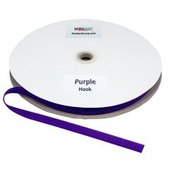 "5/8"" DuraGrip brand Sew-On Hook - Purple DG58PUHS"