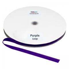 "5/8"" DuraGrip brand Sew-On Loop - Purple DG58PULS"