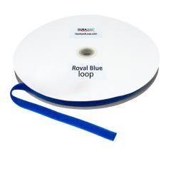"""5/8"""" - DuraGrip Brand Sew-On Loop - Royal Blue DG58RBLS"""