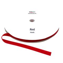 "5/8"" - DuraGrip brand Sew-On Hook - Red DG58RDHS"