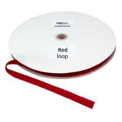 """5/8"""" DuraGrip brand Sew-On Loop - Red DG58RDLS"""