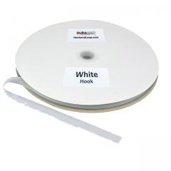 "5/8"" DuraGrip brand Sew-On Hook - White DG58WHHS"