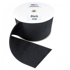 "6"" - DuraGrip Brand Sew-On Loop - Black DG60BLLS"